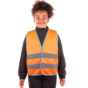 Orange Kids Hi Vis Vests...