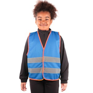 Blue Kids Hi Vis Vests with...
