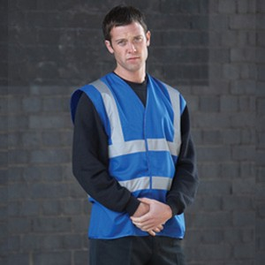 Royal Blue Adults Hi Vis Vest