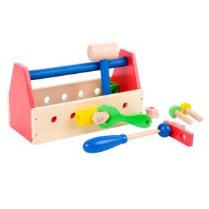 Childrens Kids Wooden Toolbox
