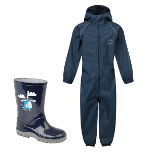 Blue Kids Waterproof Suit &...