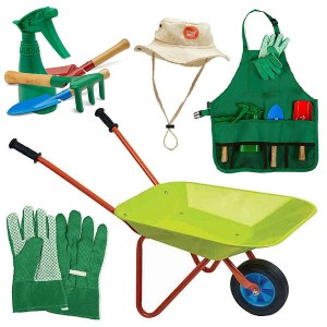 Kids Wheelbarrow & Garden...