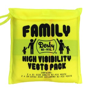Hi Vis Family 4 Pack