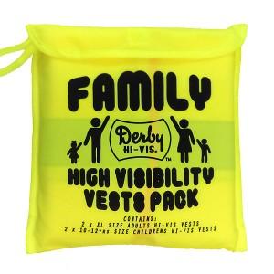 Hi Vis Vests Family Pack Of...