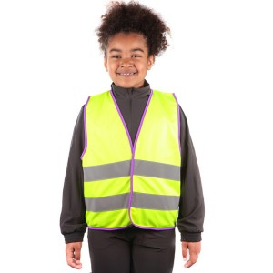 Yellow Kids Hi Vis Vests...