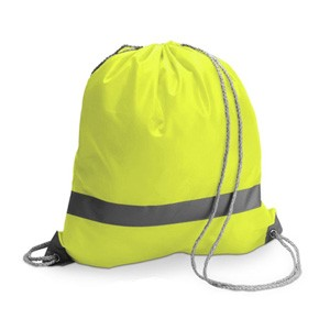Yellow Hi-Vis Drawstring...