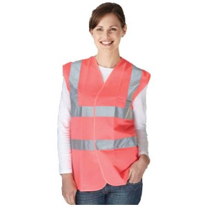 Pink Adults Hi Vis Vest