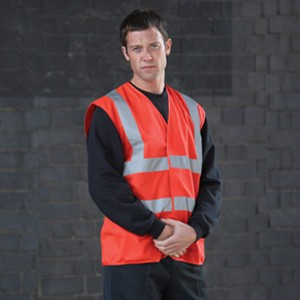 Red Adults Hi Vis Vest