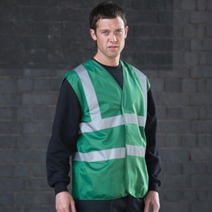 Green Adults Hi Vis Vest