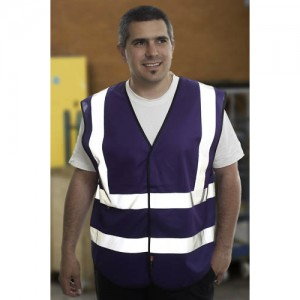 Purple Adults Hi Vis Vest