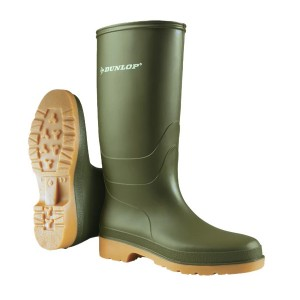 Green Childrens Dunlop Wellies
