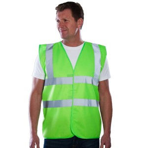 Lime Green Adults Hi Vis Vest