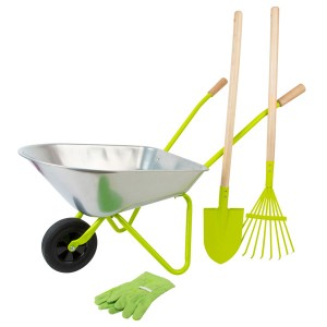 Kids Wheelbarrow & Garden...