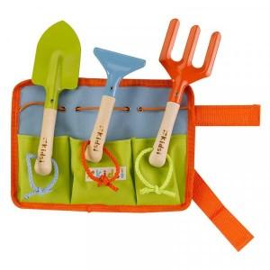 Kids Garden Tool Belt & Tools