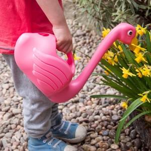 Kids Pink Flamingo Watering...