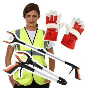 Adults Litter Picking Set Kit